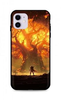 Zadní silikonový kryt DARK na iPhone 11 Warcraft