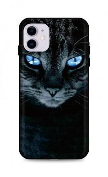 Zadní silikonový kryt DARK na iPhone 11 Dark Cat