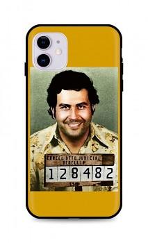 Zadní silikonový kryt DARK na iPhone 11 Pablo Escobar
