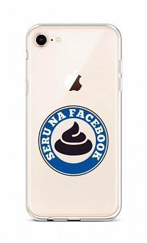 Zadní silikonový kryt na iPhone SE 2020 Facebook