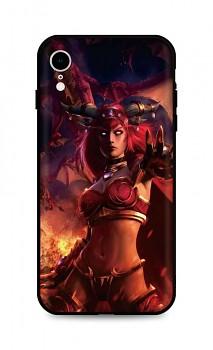 Zadní silikonový kryt DARK na iPhone XR Heroes Of The Storm
