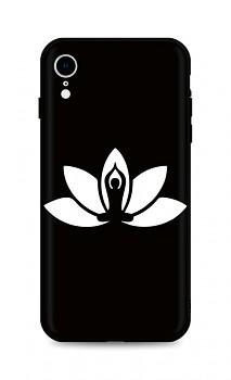 Zadní silikonový kryt DARK na iPhone XR Yoga