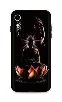 Zadní silikonový kryt DARK na iPhone XR Meditation