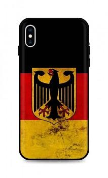 Zadní silikonový kryt DARK na iPhone XS Germany