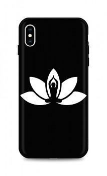 Zadní silikonový kryt DARK na iPhone XS Yoga
