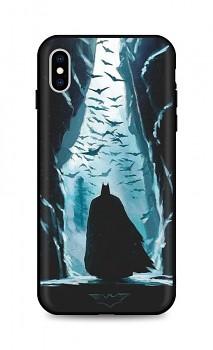 Zadní silikonový kryt DARK na iPhone XS Dark Batman