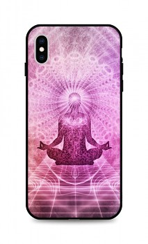 Zadní silikonový kryt DARK na iPhone XS Energy Spiritual