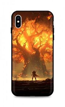 Zadní silikonový kryt DARK na iPhone XS Warcraft