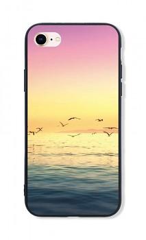 Zadní pevný kryt LUXURY na iPhone SE 2020 Sea