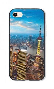 Zadní pevný kryt LUXURY na iPhone SE 2020 City