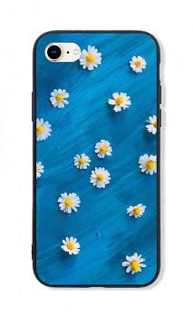 Zadní pevný kryt LUXURY na iPhone SE 2020 Daisy