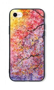 Zadní pevný kryt LUXURY na iPhone SE 2020 Abstract Tree