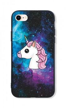 Zadní pevný kryt LUXURY na iPhone SE 2020 Space Unicorn