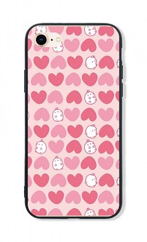 Zadní pevný kryt LUXURY na iPhone SE 2020 Sweet Bunny