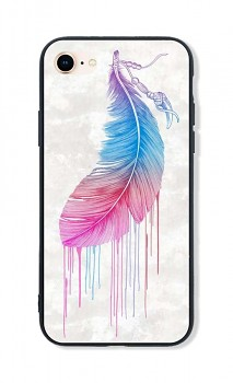 Zadní pevný kryt LUXURY na iPhone SE 2020 Feather