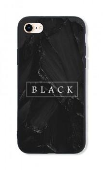 Zadní pevný kryt LUXURY na iPhone SE 2020 Black