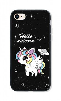 Zadní pevný kryt LUXURY na iPhone SE 2020 Unicorn