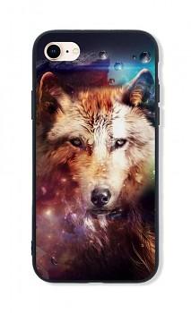 Zadní pevný kryt LUXURY na iPhone SE 2020 Wolf