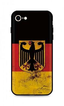 Zadní silikonový kryt DARK na iPhone SE 2020 Germany