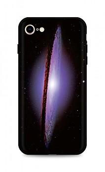 Zadní silikonový kryt DARK na iPhone SE 2020 Milky Way