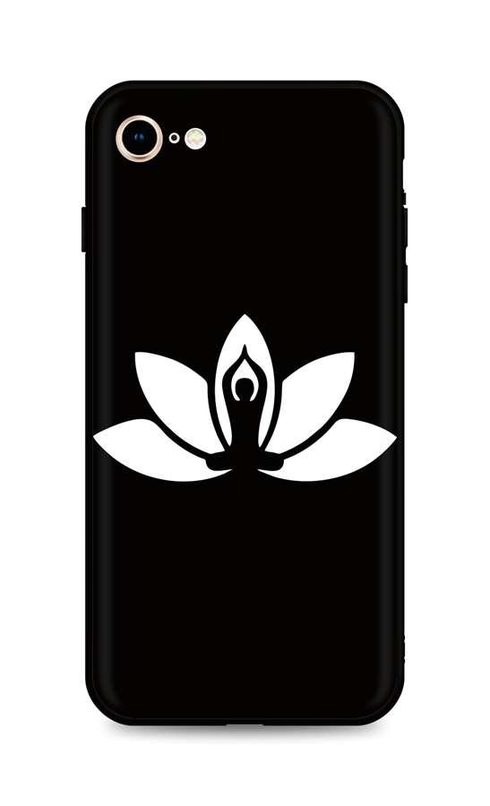 Kryt TopQ iPhone SE 2020 silikon Yoga 49287 (pouzdro neboli obal na mobil iPhone SE 2020)