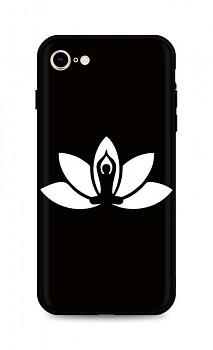 Zadní silikonový kryt DARK na iPhone SE 2020 Yoga