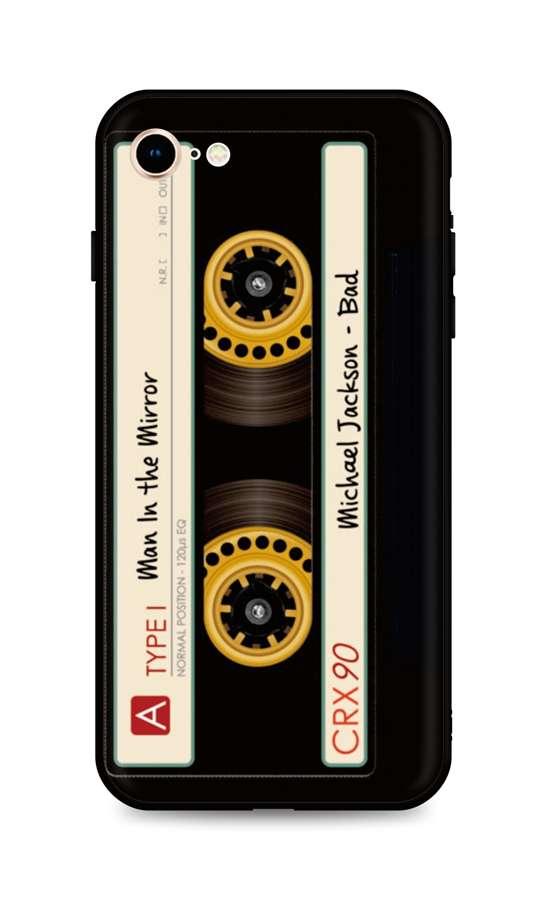 Kryt TopQ iPhone SE 2020 silikon Record 49296 (pouzdro neboli obal na mobil iPhone SE 2020)