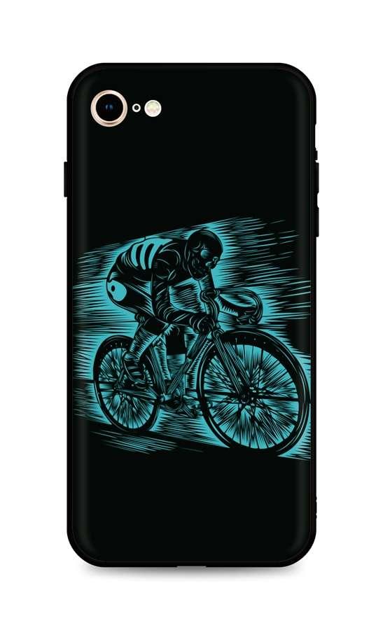 Kryt TopQ iPhone SE 2020 silikon Speeding 49297 (pouzdro neboli obal na mobil iPhone SE 2020)