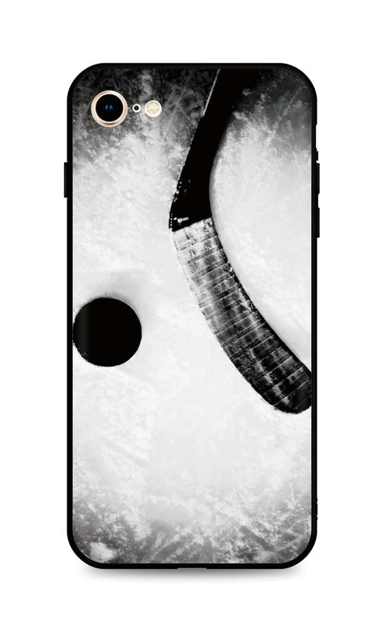 Kryt TopQ iPhone SE 2020 silikon Hockey 49301 (pouzdro neboli obal na mobil iPhone SE 2020)