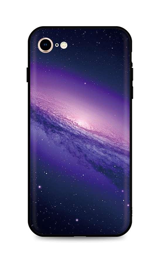Kryt TopQ iPhone SE 2020 silikon Galaxy 49304 (pouzdro neboli obal na mobil iPhone SE 2020)