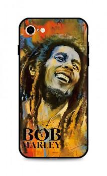 Zadní silikonový kryt DARK na iPhone SE 2020 Bob Marley