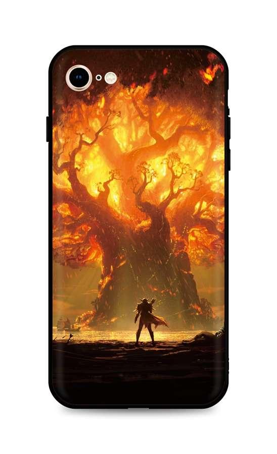Kryt TopQ iPhone SE 2020 silikon Warcraft 49313 (pouzdro neboli obal na mobil iPhone SE 2020)