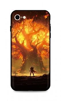 Zadní silikonový kryt DARK na iPhone SE 2020 Warcraft