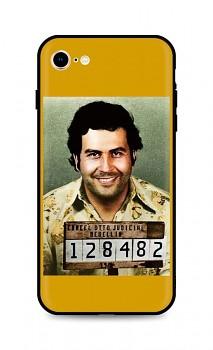 Zadní silikonový kryt DARK na iPhone SE 2020 Pablo Escobar