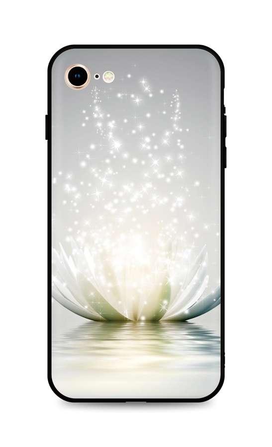 Kryt TopQ iPhone SE 2020 silikon Waterlily 49325 (pouzdro neboli obal na mobil iPhone SE 2020)