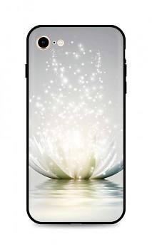 Zadní silikonový kryt DARK na iPhone SE 2020 Waterlily