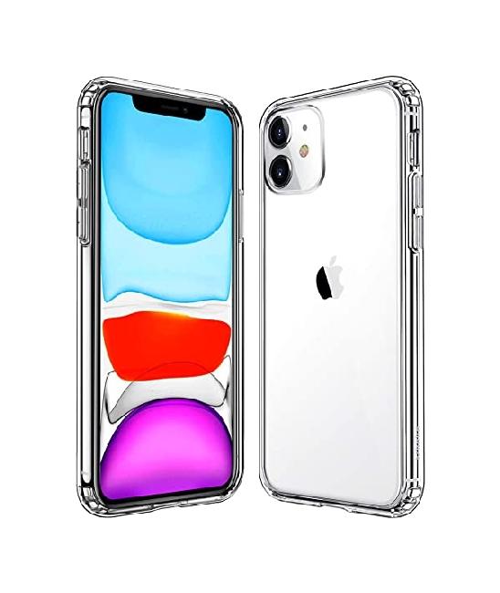 Zadní kryt Swissten Clear Jelly na iPhone 11 průhledný