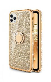 Zadní silikonový kryt na iPhone 11 Diamond zlatý