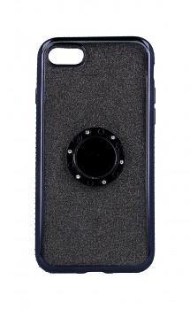 Zadní silikonový kryt na iPhone SE 2020 Diamond černý