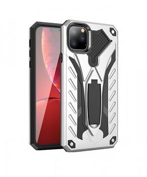 Ultra odolný zadní kryt na iPhone 11 Phantom stříbrný