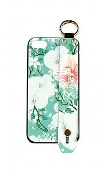 Zadní silikonový kryt na iPhone SE 2020 Retro Flower 3
