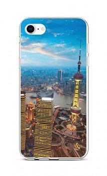 Zadní silikonový kryt na iPhone SE 2020 City