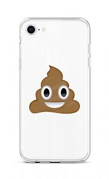 Zadní silikonový kryt na iPhone SE 2020 Poo