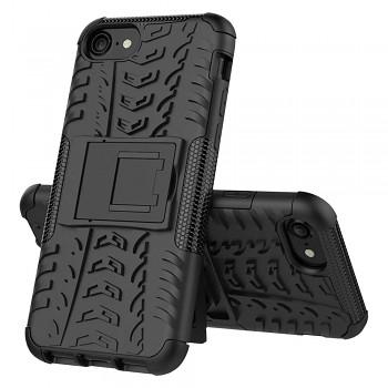 Ultra odolný zadní kryt na iPhone SE 2020 černý