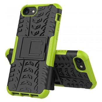 Ultra odolný zadní kryt na iPhone SE 2020 zelený
