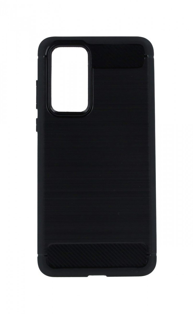 Kryt TopQ Huawei P40 silikon černý 49684 (pouzdro neboli obal na mobil Huawei P40)