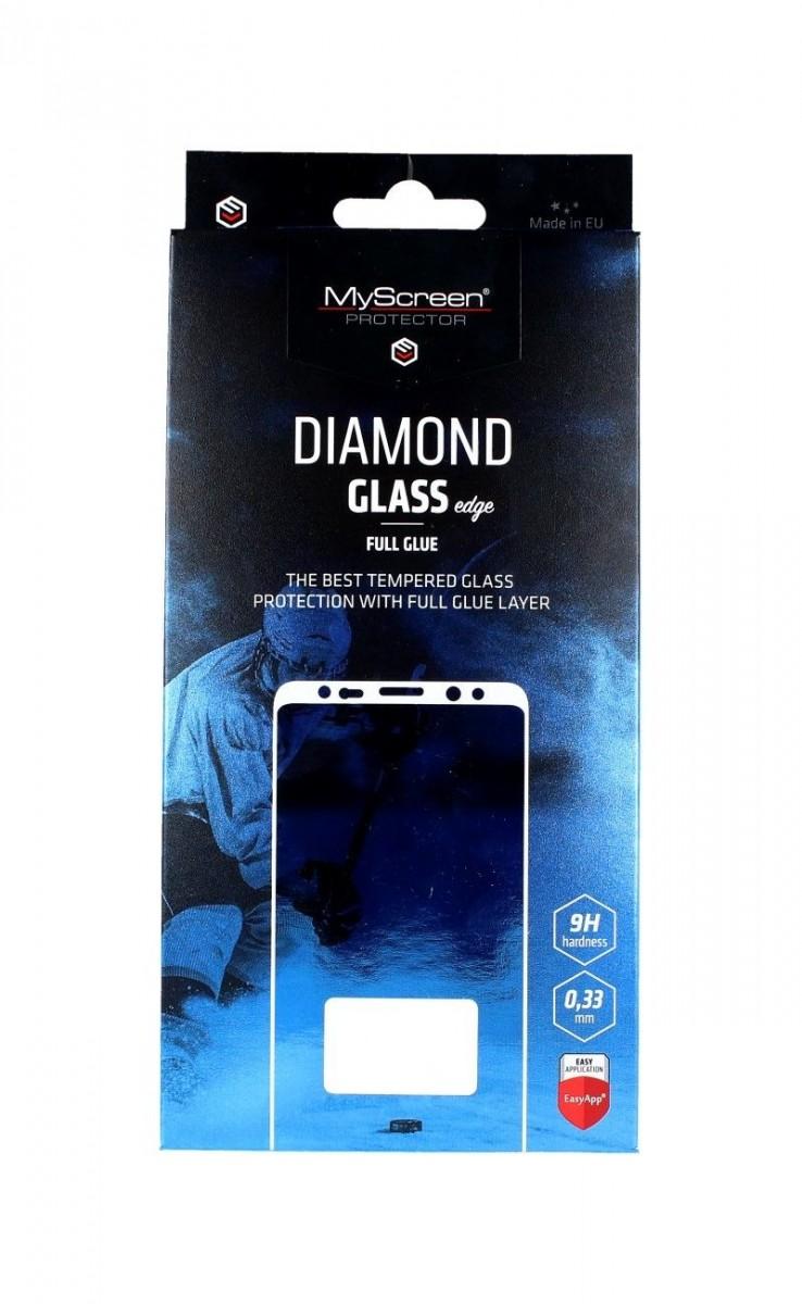 Tvrzené sklo MyScreen Huawei P40 DIAMOND FullGlue černé 49709 (ochranné sklo Huawei P40)