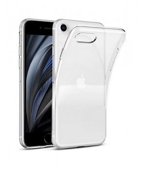 Zadní silikonový kryt na iPhone SE 2020 1 mm průhledný
