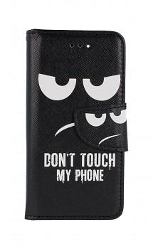 Knížkové pouzdro na iPhone SE 2020 Don't Touch
