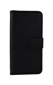 Knížkové pouzdro na iPhone SE 2020 černé s přezkou